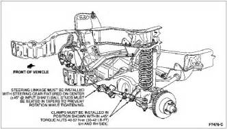diagram for ford taurus1999 front suspension fixya