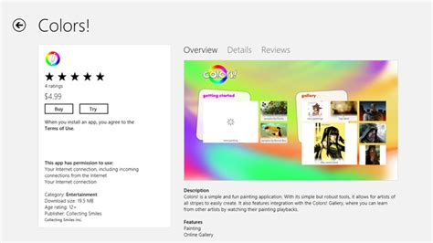 Making Money With Your Apps Through The Windows Store Colors App