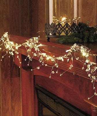 Garland Home Decor Clear Battery Operated 54 Quot Lig Christmas Home Decor