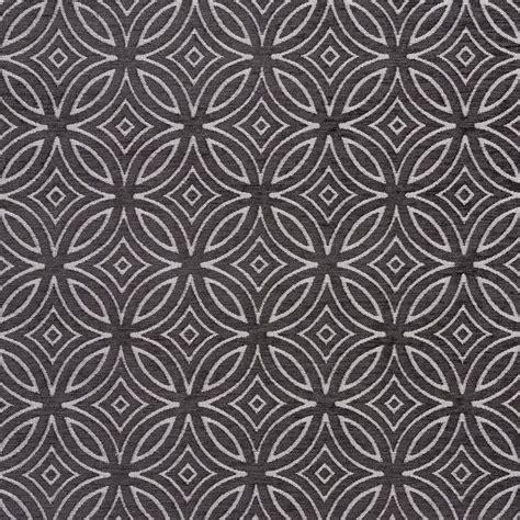 Black Chenille Upholstery Fabric - b0810e black and silver woven geometric chenille