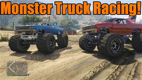 monster truck video games xbox gta 5 xbox one ps4 monster truck racing with