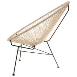 chaise design acapulco taupe la chaise longue
