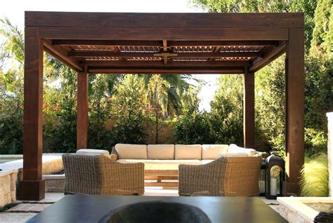 contemporary pergola kits outdoor goods