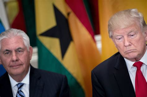 donald touts foreign diplomacy on u s diplomat s resignation signals wider exodus from