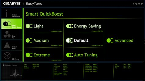 Gigabyte Easytune 6 Auto Tuning gigabyte unveils all new easytune utility for haswell