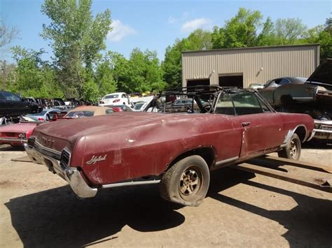 68 buick skylark convertible 67 68 69 70 71 72 buick skylark convertible pair of rear