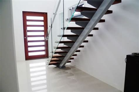 Stainless Steel Banister Rail Steel Staircase Design Stairworx