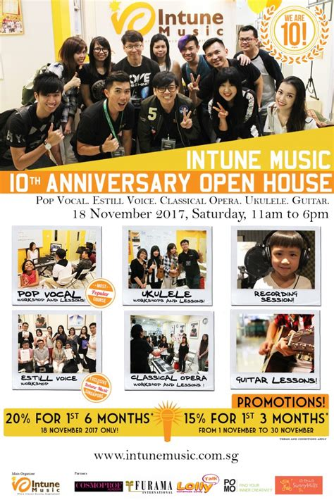 open house music intune music school singapore singing lessons guitar and ukulele classes