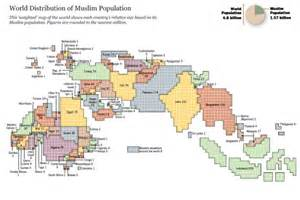 which territory has the least muslim population in the shahray october 2009
