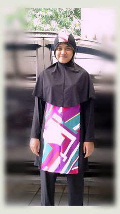 Baju Wanita Muslimah Zipper Rainbow Warna Pink kode mdsj1404 harga idr 285 000 baju renang muslimah dewasa dengan desain longgar berwarna