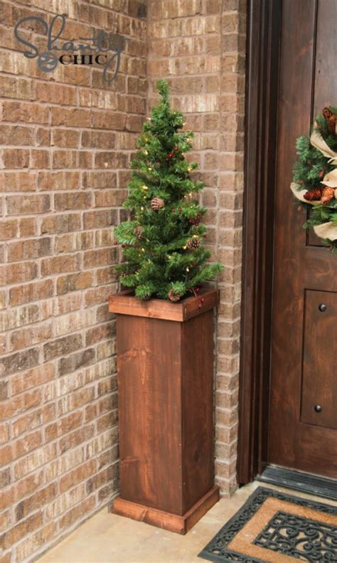 christmas tree too small for stand diy 25 tree plant stand shanty 2 chic