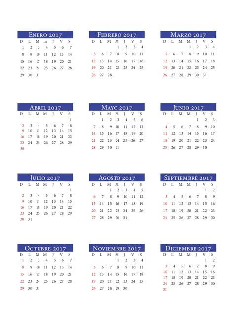 calendario 2017 agenda institucional