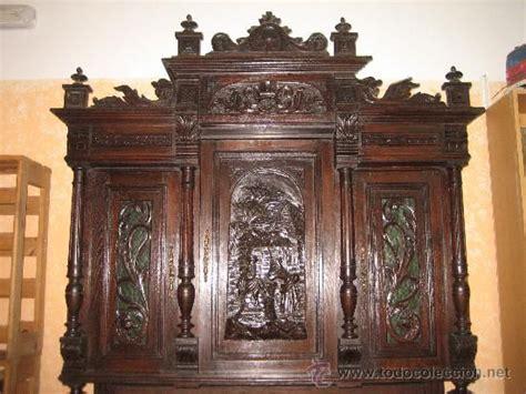 muebles el siglo antiguo y impresionante mueble armario siglo xviii grabado