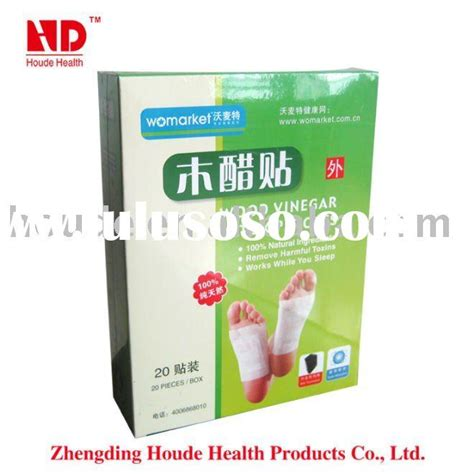 Detox Slim Foot Patch by Factory Recommended Item 100 Slim Trumpet Flower Clear