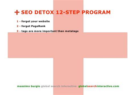 Social Detox Programs by Seo Detox From Seo To Social Media Optimization In 12