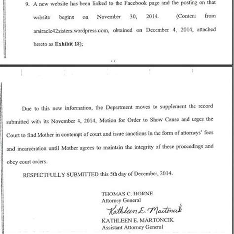 This Is An Order From The Court To Send Up The Records On A For Review Arizona Of Two Medically Breaks Order And Speaks Out