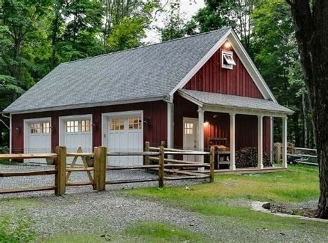 not only is this a beautiful garage pole building but the picture 24 best pole barns images on pinterest garages