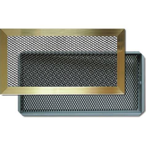 grille ventilation cheminee grilles d a 233 ration chemin 233 e avec cadre laiton autogyre