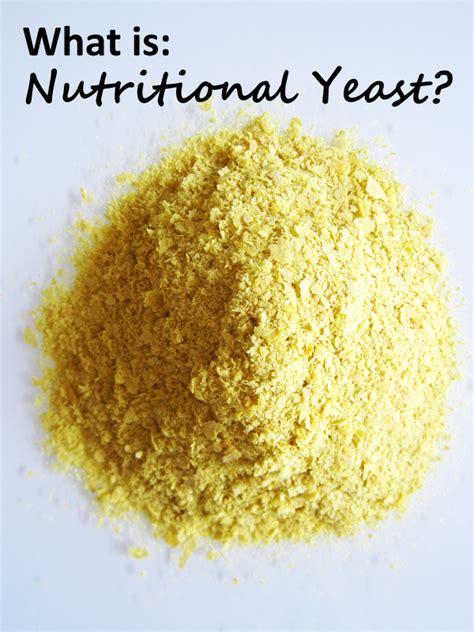 what is nutritional yeast nooch vegangela