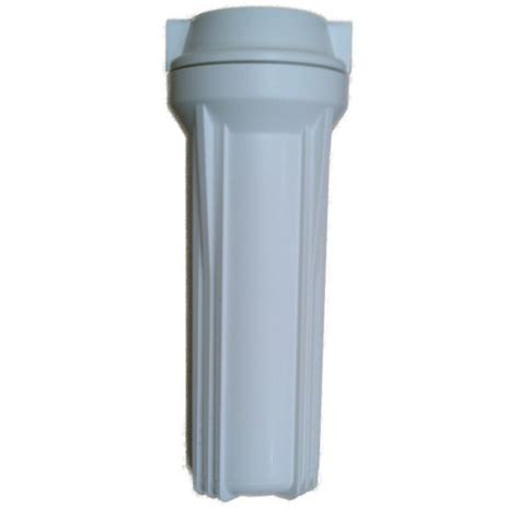 water filter housing 10 quot filter housing with 1 4 quot ports white for water filters ro systems aquarium