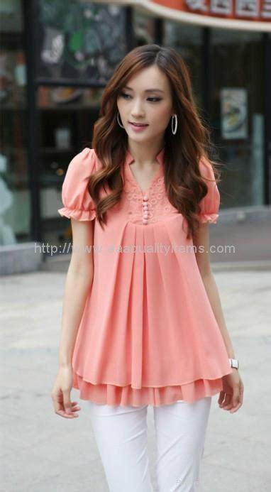 Atasan Wanita Blouse Fashion Atasan 1 wholesale korea style summer characteristic fshion shirt 09807 no brand china