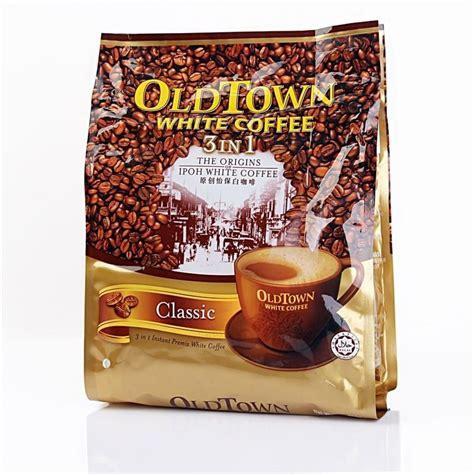 Town White Coffee 3 In 1 Classic 15 Sachet X 40 G Kopi Malaysia town 3 in 1 white coffee classic 600g from buy asian food 4u