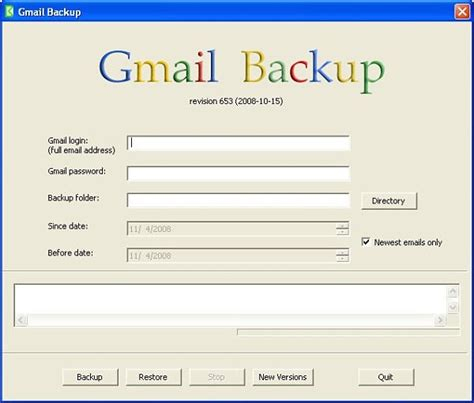 Gmail Backup | gmail backup copia de seguridad de tu correo gmail