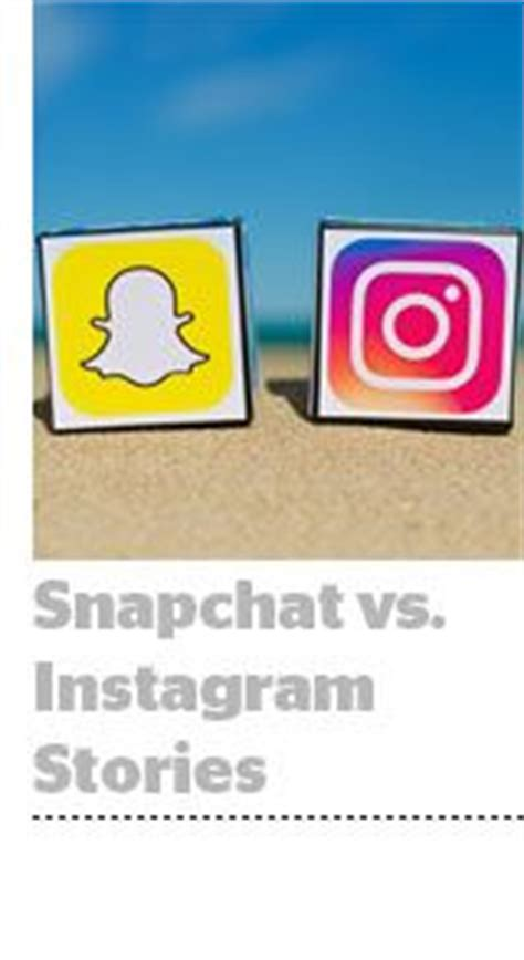 publishers weigh in snapchat vs instagram stories