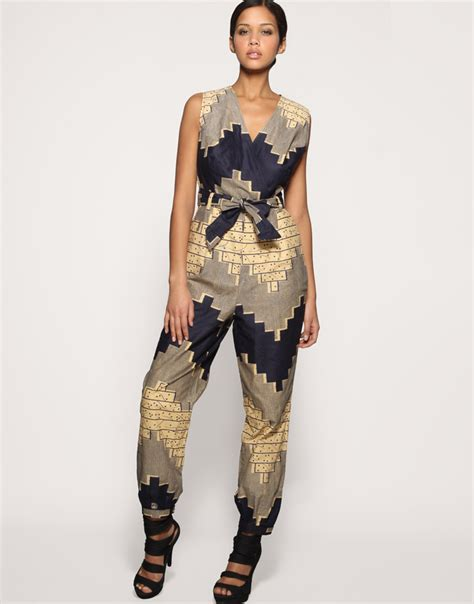 african jumpsuits style fashion nette work trend report 2010 african inspired