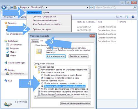 ver imagenes ocultas windows 7 c 243 mo ver si hay archivos ocultos en mi usb
