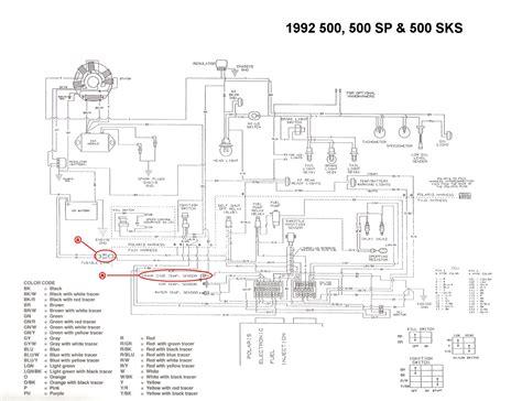 1999 polaris starter diagram wiring schematic 1999