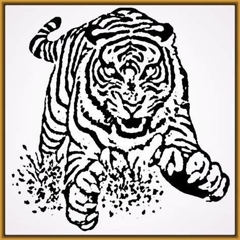 imagenes de tigres faciles para dibujar dibujos de tigres para colorear e imprimir archivos