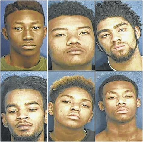 Anson County Arrest Records Anson Record Authorities 7 Charged In Robbery Shooting