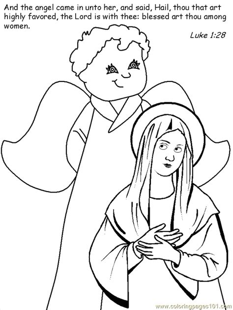 coloring pages nativity story story printables coloring home