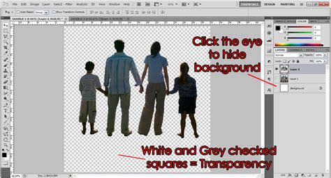 save a pattern in photoshop cutting out an object without having background