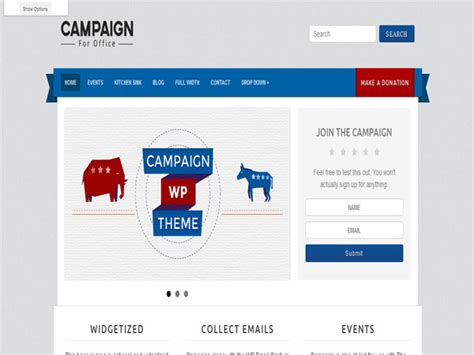 themes wordpress red 10 best responsive political wordpress themes graphicsbeam