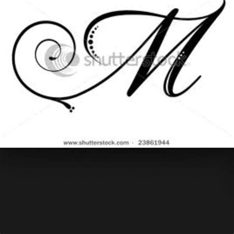 tattoo fonts m best 25 letter m tattoos ideas on