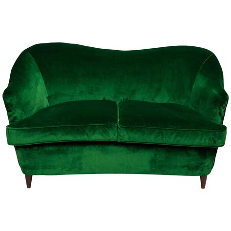 little sofas little 1930s curved italian sofa at 1stdibs