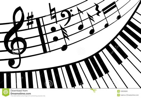 dark color musical notes vector the gallery for gt restaurant black and white