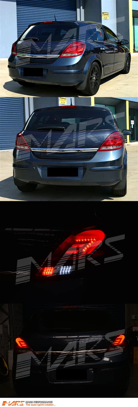 holden h clear 3d led bar lights for holden opel astra h 5