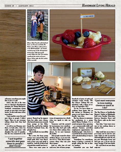 Handmade Living - living a handmade living the big cheese kit