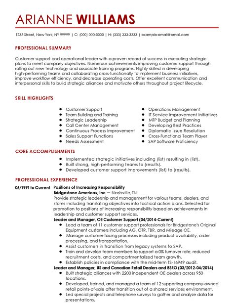 Talent Acquisition Resume Sample by Professional Customer Success Manager Templates To