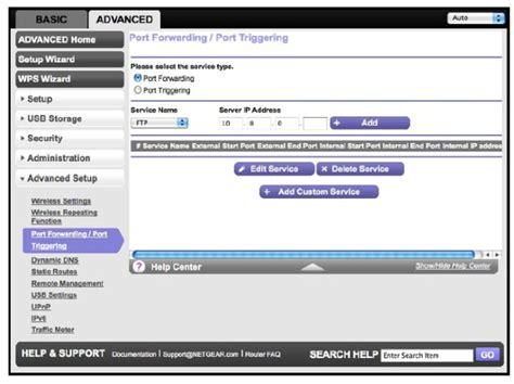 netgear forwarding konfigurationsanleitung f 252 r portweiterleitung answer