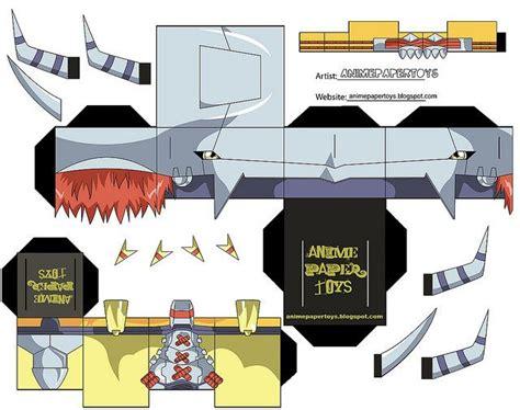 Digimon Digivice Papercraft - wargreymon digimon adventure 1 paper toys