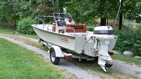 boston whaler montauk boats for sale boston whaler montauk 17 1989 for sale for 3 550 boats