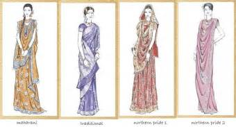 different saree drapes how to wear a sari in different styles