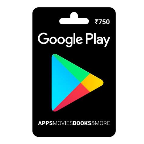 Google Play Online Gift Card - google play gift card rs 750 price in india buy google play gift card rs 750