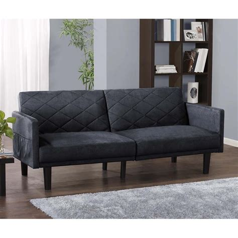 blue microfiber couch microfiber convertible sofa in navy blue 2097619