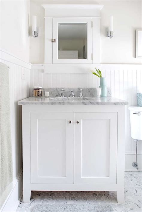 white beadboard bathroom vanity white beadboard bathroom cottage bathroom papyrus