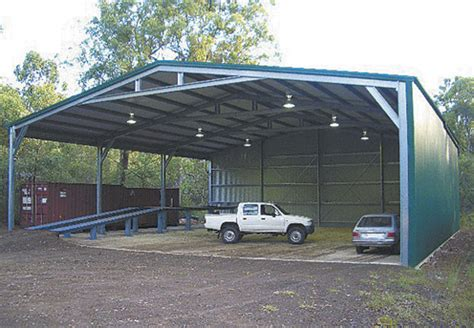 Steel Structure Shed prefabricated structure steel shed with gable roof or mono
